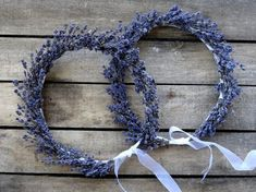 Dried Lavender Bridal Flower Crown Wedding Crown by SteliosArt, €55.00