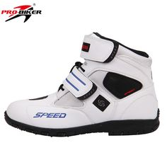 9d1f5cf7f9 Riding PRO-BIKER Breathable Motorcycle Leather Boots