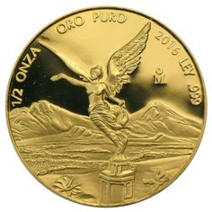 2016 1/2 oz Proof Mexican Gold Libertad Coins from JM Bullion™