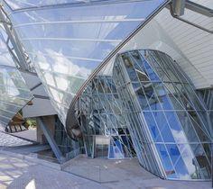 The #FIDM Blog: Study Tours: Visit the New Fondation Louis Vuitton