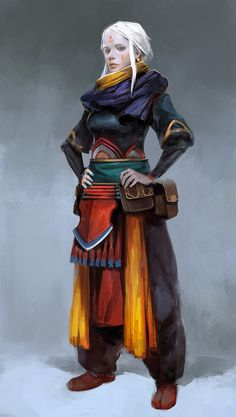 New Concept Art Portrait Female Characters Ideas Female Character Design, Character Design Inspiration, Character Concept, Character Art, Concept Art, Dungeons And Dragons Characters, Fantasy Characters, Female Characters, Dnd Characters