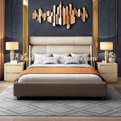 Modern Luxury Bedroom, Luxury Bedroom Furniture, Luxury Bedroom Design, Master Bedroom Interior, Bedroom Bed Design, Home Room Design, Luxury Home Decor, Luxurious Bedrooms, Home Decor Bedroom