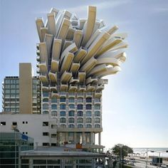 Spanish photographer Victor Enrich has manipulated his own architectural photography to create impossible and fantastical structures!    Medusa Tel Aviv