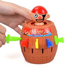 1 Set Pirate Toys Barrel Crisis Novel Whimsy Classic Family Funny Lucky Party Creative Interactive Baby Kids Toys Game Gifts