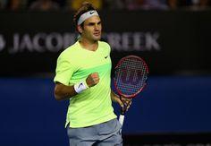 Roger Federer Photos: Australian Open: Day 1