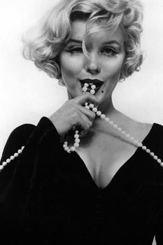 "Marilyn publicity still for ""Some Like It Hot"" by Richard Avedon"