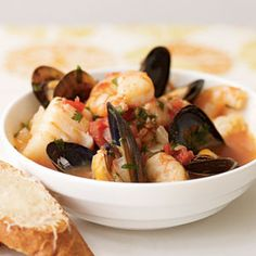 Gluten Free Cioppino-Style Seafood Stew | MyRecipes.com