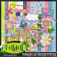 Lisa Campbell Designs: Kelly's newest Magical release.............