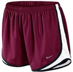 Maroon running shorts!