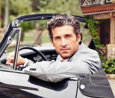 Patrick Dempsey Describes His Audition For 'Grey's Anatomy' & His First Read with Ellen Pompeo!: Photo Patrick Dempsey looks suave and as handsome as ever on the cover of Manhattan magazine's October 2014 issue. Greys Anatomy, Hot Men, Pretty People, Beautiful People, Dating An Older Man, Silver Foxes, George Clooney, Good Looking Men, Man Crush