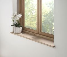 Character Oak Window board Bullnose 40mm thick