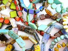 LAST DAY to save 25% on our Czech Glass Beads at www.happymangobea...