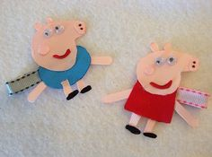 Is your little a fan on Peppa the Pig and George? this is a perfect present for little girl who loves peppa the pig.  This clip is