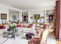 Интерьеры квартиры в Париже с видом на Дом инвалидов: работа дизайнера Николя Газо | Admagazine | AD Magazine