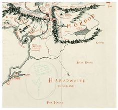Blackwell's Rare Books Exhibits Lord of the Rings Map of Middle-earth Annotated by J.R.R. Tolkien - CityLab