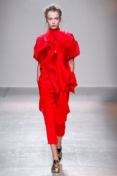 Aganovich Spring 2015 Ready-to-Wear Inspiration: Tilda Swinton's character from Only Lovers Left Alive, an eager customer