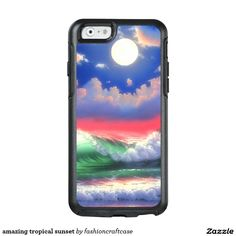 amazing tropical sunset OtterBox iPhone 6/6s case