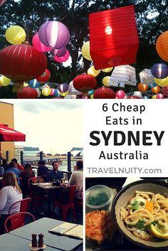 6 Cheap Eats in Sydney