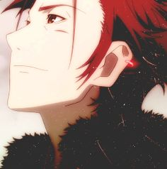 Mikoto Suoh. Hot Anime Boy, Cute Anime Guys, All Anime, Anime Love, Reno Final Fantasy, Suoh Mikoto, Project Red, Spice And Wolf, A Silent Voice