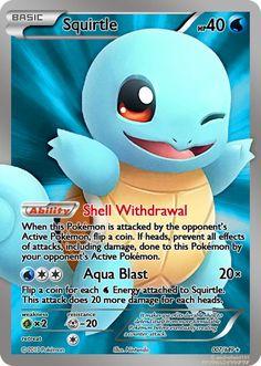 Arquivos Pokémon – Burn Book Squirtle, known as Zenigame in Japan, is a Pokémon species on Nintendo and in the Pokémon franchise of Game Freak. Pokemon Fusion, Pokemon Sammelkarten, Pokemon Tcg Cards, Pikachu, Cool Pokemon Cards, Pokemon Trading Card, Pokemon Games, Pokemon Gyarados, Pokemon Full