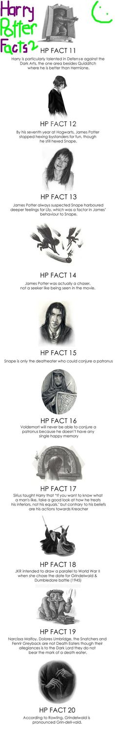 Interesting... Some of these I actually didn't know, for example Emma's fractured wrist in the 'Chamber of Secrets' film.