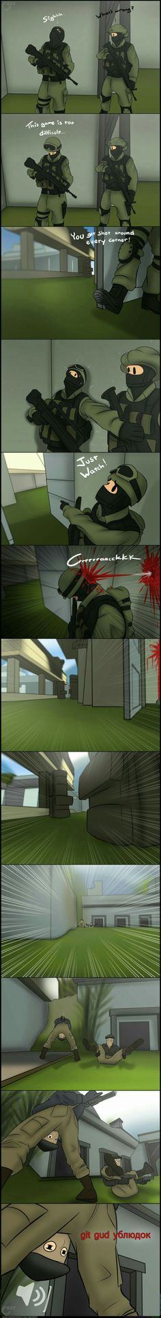 CS:GO in a nutshell (Comic by GearBoy)