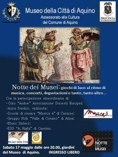 La notte dei Musei di Aquino #ndm14 #ndm14italia #frosinone