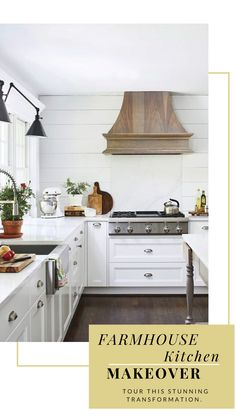 A nearly 50-year-old Maryland cottage undergoes a stunning farmhouse kitchen transformation.