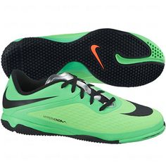 Nike FC247 Elastico II Indoor Shoes - Neo Lime with Black...$53.99 ...