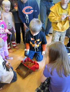 Pirate Birthday Party Games Hook Pretzel - web by Kelly Griglione, via Flickr