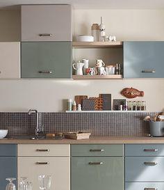 castorama cuisine sixties une cuisine vintage toujours dans l air du temps home d co. Black Bedroom Furniture Sets. Home Design Ideas