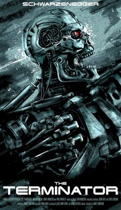 The Terminator james cameron film poster