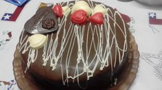 Torta de Chocolate Aniversario de Matrimonio