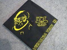 50 Awesome Graduation Cap Decoration Ideas, http://hative.com/awesome-graduation-cap-decoration-ideas/,