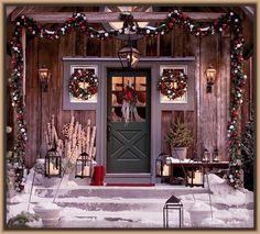 La Mejor Decoracion de Puertas para Navidad | Lindos Modelos de Casas