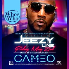 cameo miami memorial weekend