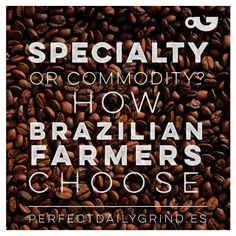 Learn how in Brazil sometimes producing Specialty is not an optionLink in bio!#PerfectDailyGrind