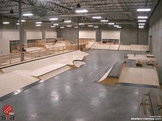 skateboard park in california indoor - Google Search
