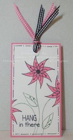 Bookmark - Stamps: Stamps: Bug Me Anytime (Nina Brackett - Gina K) - (2009)