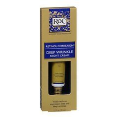 """Roc Retinol Correxion Deep Wrinkle Night Cream: """"The highest strength of retinol you can get before a trip to the dermatologist's office."""" –– Dr. Tanzi"""