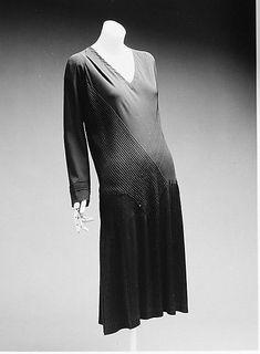 Dress Madeleine Vionnet (French, Chilleurs-aux-Bois 1876–1975 Paris) Date: 1926–27 Culture: French Medium: silk