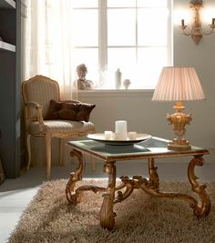3439 Coffee Table, Traditional Living Room Design at Cassoni