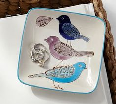 Bird Catchall #potterybarn