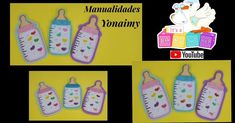 MAMILAS O BIBERONES PARA DARL COMO RECUERDOS EN BABY SHOWER SI DESEAS VER EL PASO A PASO SOLO DALE CL... Pot Holders, Baby Shower, Blog, Felt Patterns, Baby Bottles, Jelly Beans, Souvenirs, Step By Step, Projects