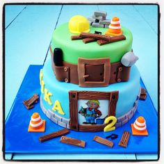 Bob The Builder Cake!