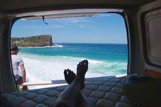 VW Camper van at the beach| Australia