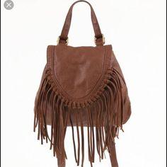 Black Poppy Fringe Backpack