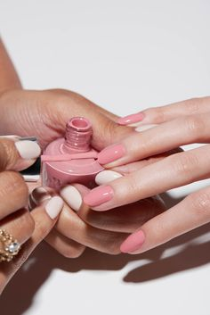 Prime, Lacquer, Gloss your way to a longer lasting, easy-removal manicure. Ask your OPI Professional for Infinite Shine! Shade shown: Excuse Me Big Sur