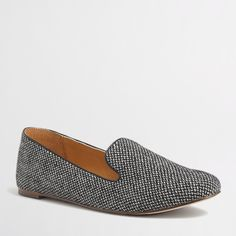 Factory Addie herringbone loafers : Loafers | J.Crew Factory