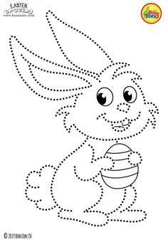 Easter Tracing and Coloring Pages for Kids - Free Preschool Printables and Worksheets, Fine Motor Skills Practice - Easter bunny, eggs, chicks and more on BonTon TV - Coloring books uskrs easter preschool tracing coloringpages coloringbooks printables Easter Coloring Pages, Coloring Pages For Kids, Coloring Books, Easter Printables, Preschool Printables, Free Preschool, Preschool Crafts, Paper Embroidery, Embroidery Patterns